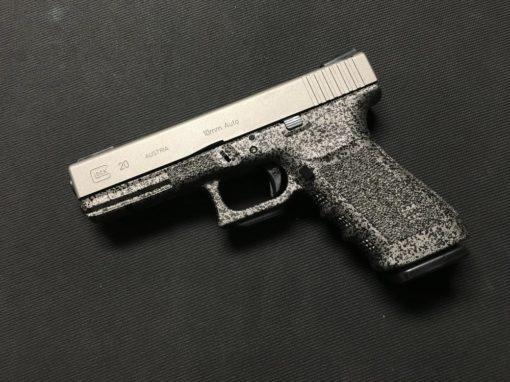 GLOCK 20 SPECKLED FRAME AND GUN METAL GREY CERAKOTE